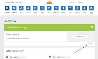Cara Menghapus Domain Di CloudFlare