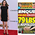 Que Angelina Jolie pesa 35 kg y está hospitalizada