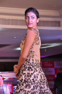South Indian Celebrities Pos at Love For Handloom Collection Fashion Show  0042.jpg