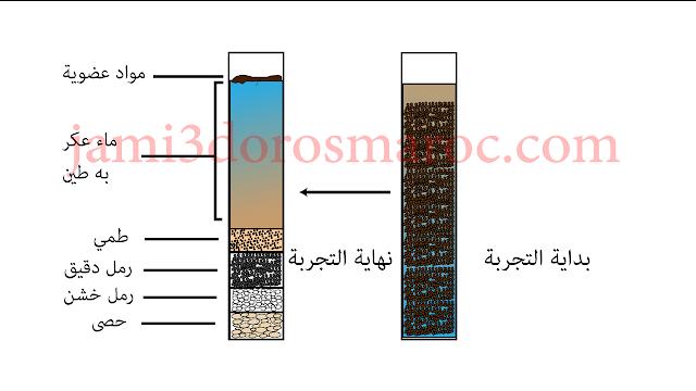 العلاقة بين خاصيات التربة و توزيع الكائنات الحية : الخاصيات الفزيائية ، قوام التربة