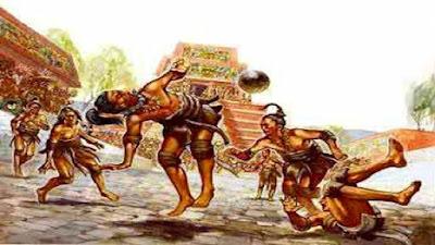 Lance del juego de la pelota maya