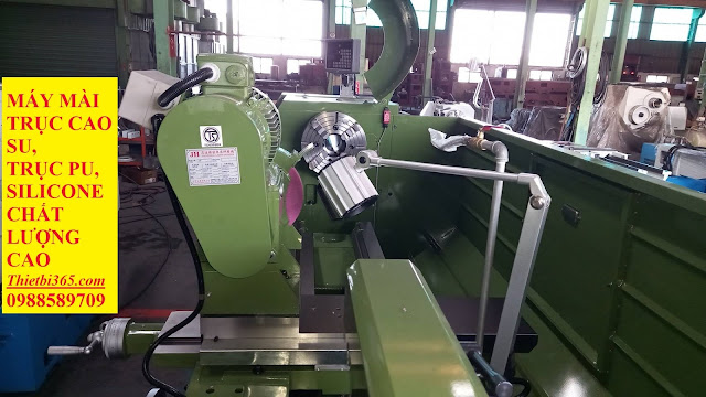 Hình ảnh các bộ phận máy mài trục cao su, pu, silicone