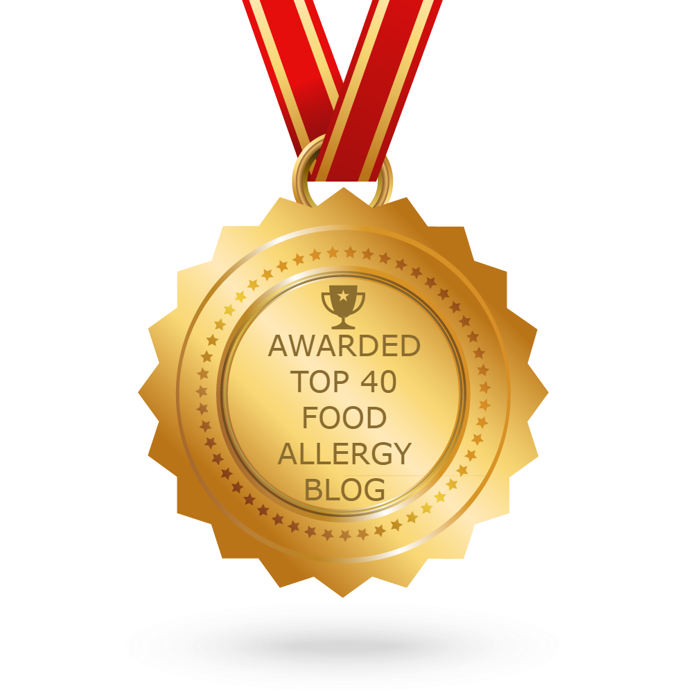 Feedspot - Top Food Allergy Blogs 2018