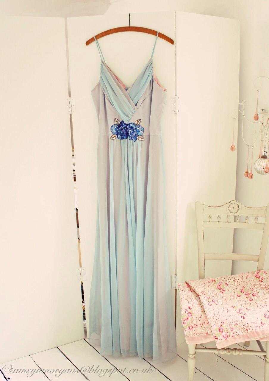 Vintage chiffon dresses…