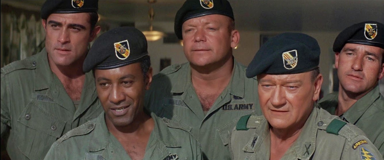 Cool Ass Cinema The Green Berets 1968 Review - Www imagez co