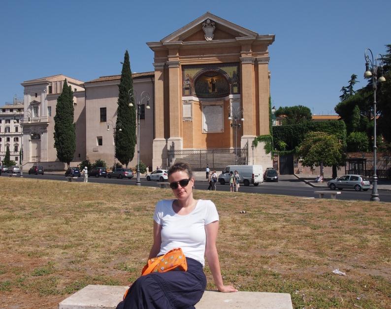 Sunny in Rom