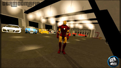 GTA San Andreas Iron Man 3 Mod With Avengers Tower Stark Industries