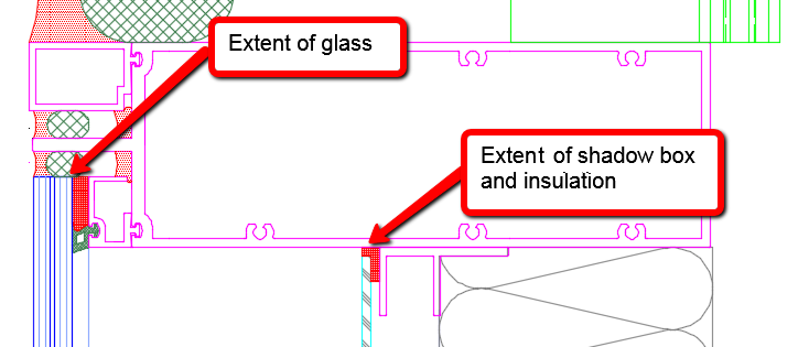 Curtainwallbim Parametric Shadowbox Panels