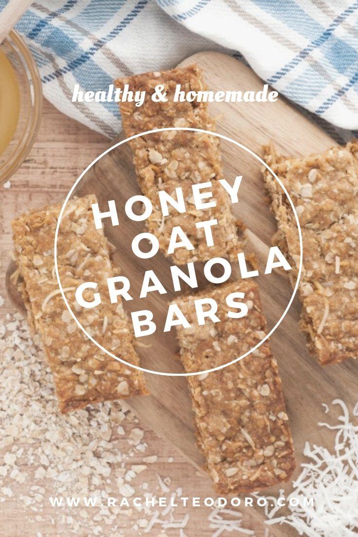 homemade granola bar recipe with variations