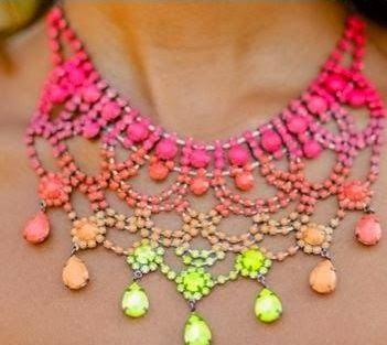Cara Membuat Kerajinan Tangan Yang Mudah Untuk Para Wanita - Kalung Warna 6
