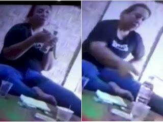 Viral Oknum Polwan di Lampung yang Jabat Kanit Narkoba Terekam Asyik Nyabu