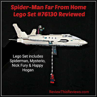 Spiderman Far From Home Lego Set