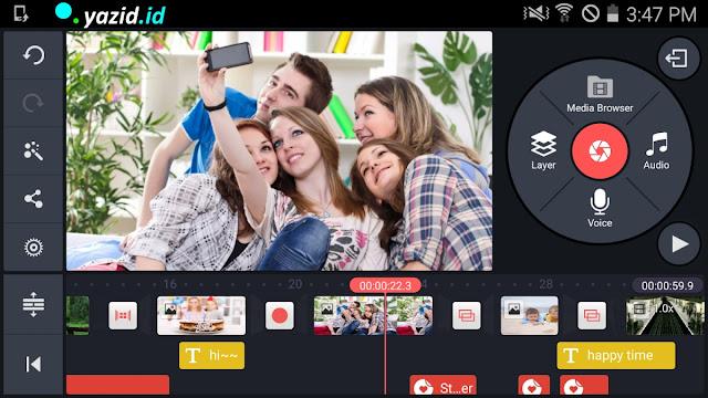 Download Aplikasi Edit Video Kinemaster tanpa Wtermark