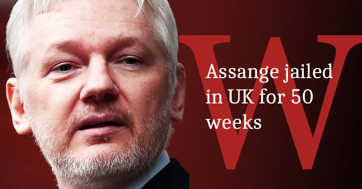 julian assange jailed