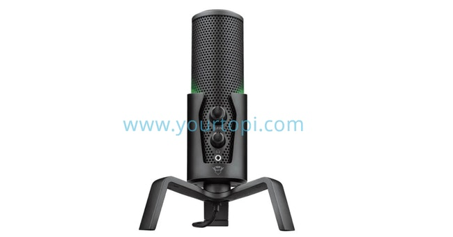 Trust GXT 258 Fyru Audio Recoding and Streaming Microphone