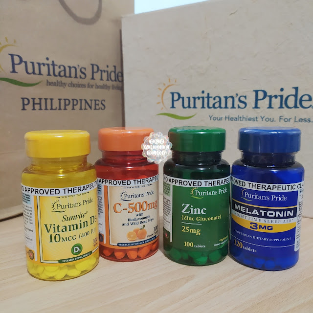 Puritans Pride Immune Boosters Are Now in the Philippines! Affordable Health Supplements and Vitamins to Protect You from Covid-19!