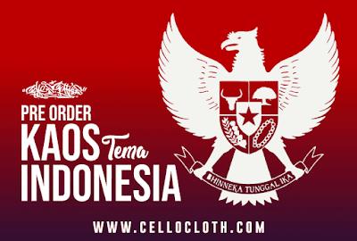 Pre Order Sablon Satuan Kaos Garuda Indonesia New Edition