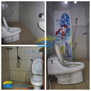 bathroom the kelapa hotel karimunjawa