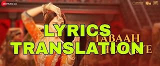 Tabaah Ho Gaye Lyrics Meaning in English – Kalank | Shreya Ghoshal