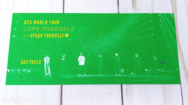 BTS Speak Yourself Sao Paulo Brazil DVD | Bookmark