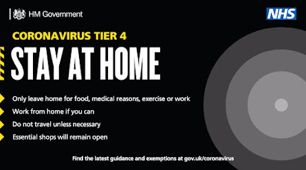 Coronavirus Tier 4 UK Stay At Home