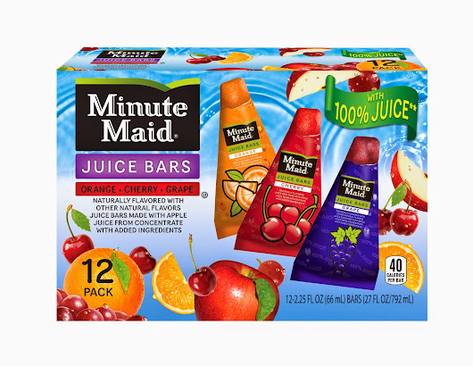 Second Time Around: Stay Cool this Summer with Minute Maid Juice Bars