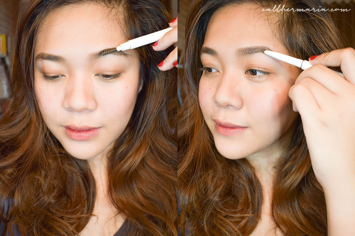 Using Careline Best Brow Liner