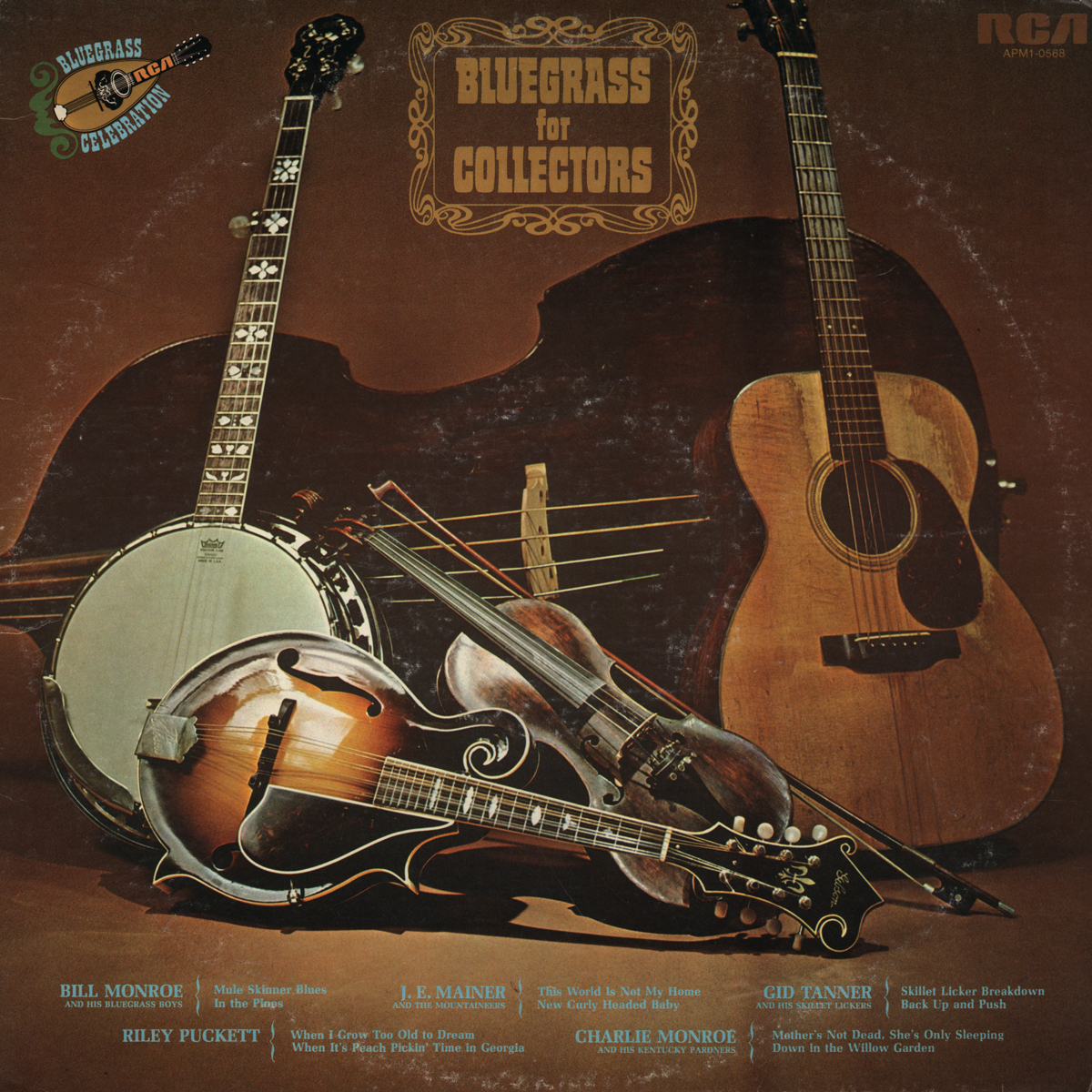 Lonesome Lefty's Scratchy Attic: BLUEGRASS FOR COLLECTORS