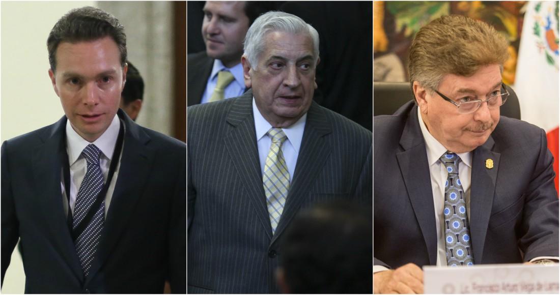 """Velasco, Núñez y """"Kiko"""" Vega, los 3 gobernadores peor calificados en el país: encuesta de Coparmex."""