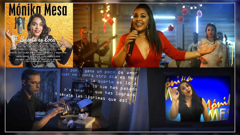 Mónika Mesa - ¨La suerte es loca¨ - Videoclip - Director: Henry García. Portal Del Vídeo Clip Cubano
