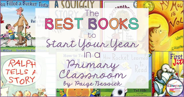 The best books you'll want to share with your class at the beginning of the year.