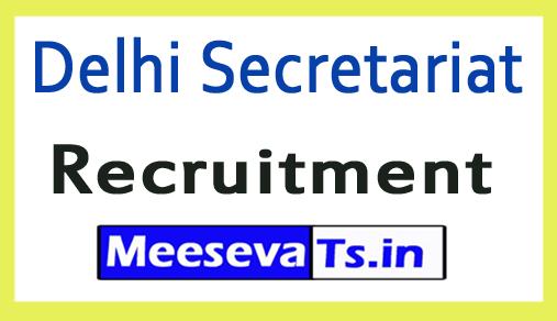 Delhi Secretariat Recruitment