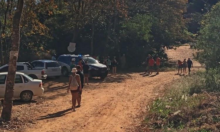 Criança desaparece após ser arrastada por correnteza no Poço Preto, em Livramento