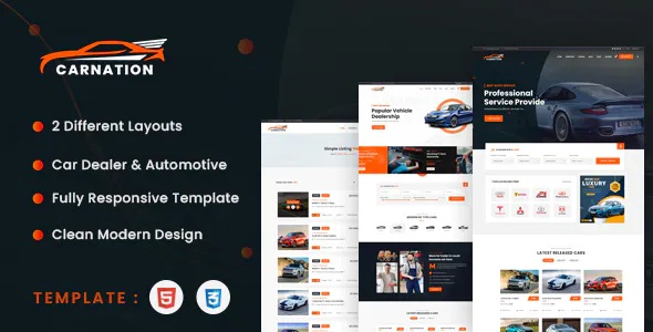 Best Car Dealership and Listings HTML Template