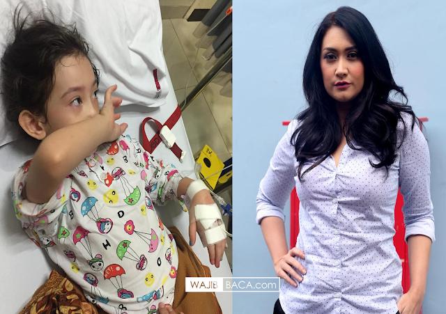 Netizen Terharu: Anak Nafa Urbach Sampai Masuk Rumah Sakit, Tahu Video Ayahnya Selingkuh