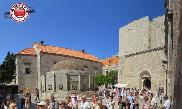 Dubrovnik - Puerta Pile y Fuente Onofrio