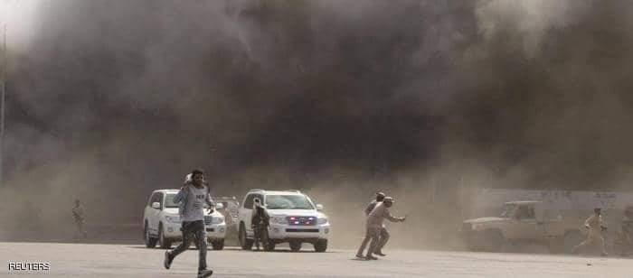 عاجل..انفجار يهز مدينة عدن جنوبي اليمن