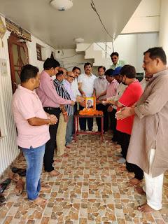 #JaunpurLive : रविनंदन सहाय का जीवन अनुकरणीय है : राकेश श्रीवास्तव