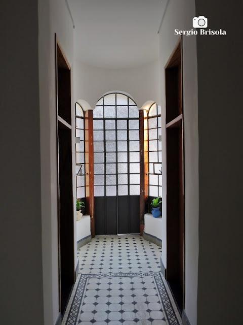 Vista de parte do interior do Castelinho da Rua Apa - Campos Elíseos - São Paulo