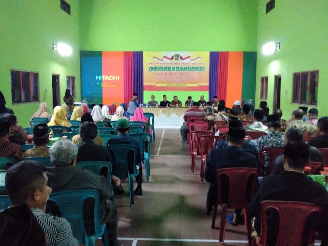 Danramil12/Manisrenggo  Hadiri  Musrenbangdes