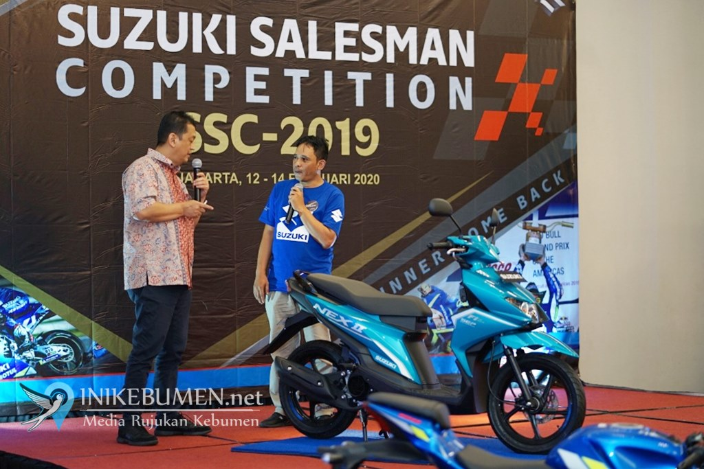 Kegigihan dan Pengetahuan, Kunci Kemenangan Sales Terbaik Suzuki