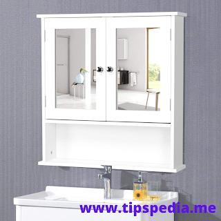 yaheetech bathroom cabinet