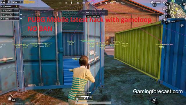 hack pubg mobile gameloop 2019