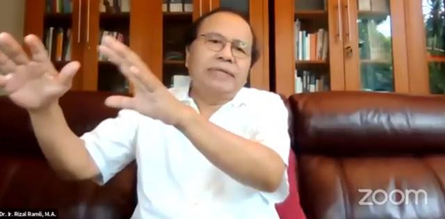Rizal Ramli: Tanpa UU Cilaka, Ekonomi Era Gus Dur Naik Total 7,5 Persen