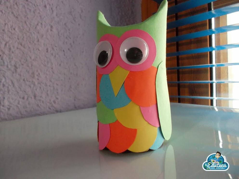 Manualidades b hos con rollos de papel higi nico la - Rollos de papel higienico decorados ...