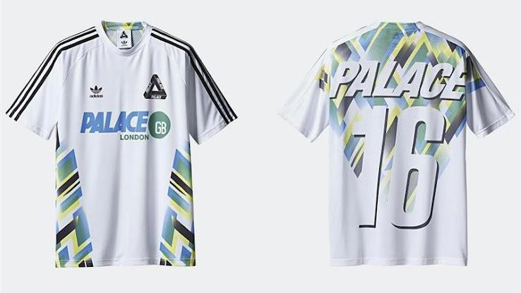 Adidas Originals X Palace Football Jerseys Footy Headlines