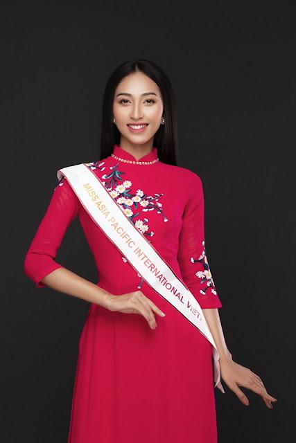 Thu Hiền đại diện Việt Nam chinh phục Hoa hậu Châu Á Thái Bình Dương 2