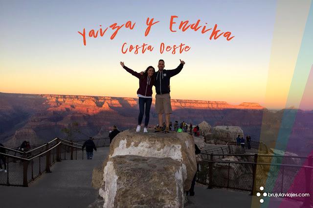 Costa Oeste - Estados unidos - Viaje de novios - Luna de miel