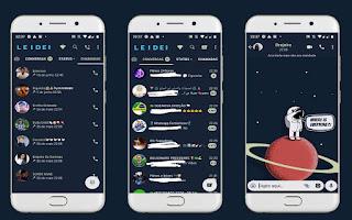 Astronauta 16 Theme For YOWhatsApp & Fouad WhatsApp By Leidiane