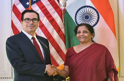 7th INDIA - US Economic and Financial Partnership meeting held in New Delhi